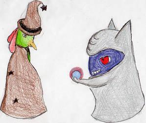 Classy Pokemon: Witch Papaya and Diviner Plum