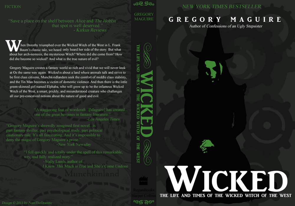 wicked by gregory maguire Buy a cheap copy of wicked: the life and times of the wicked book by gregory maguire this is the book that started it all the basis for the smash hit tony award-winning broadway musical, gregory maguire's.