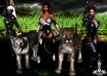 Lady Mystique - Aunrae - Nathalie - Defenders by 1STLADYQUICK