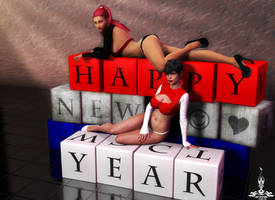 Mystique and Lucero - HAPPY NEW YEAR !