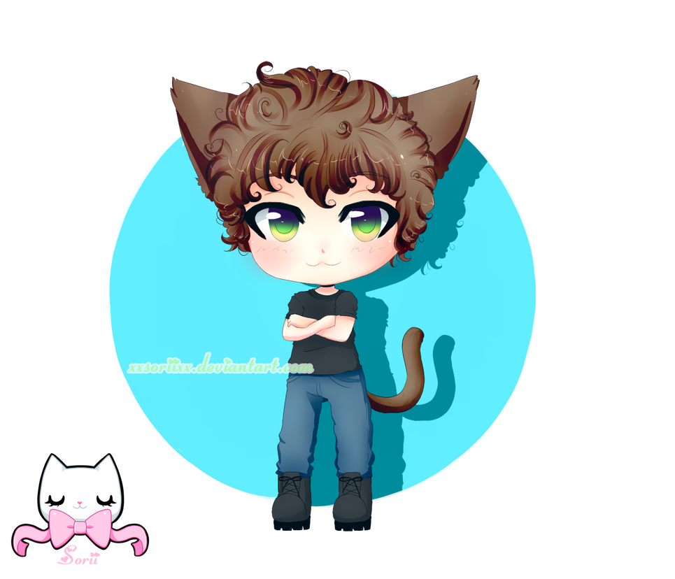 CMM: Neko boy by SoriiNyu
