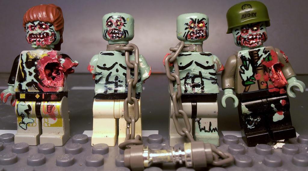 как играть в лего зомби видео