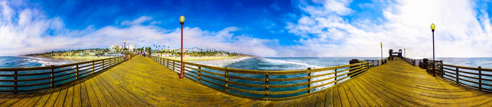 Oceanside Pier by DropThePress