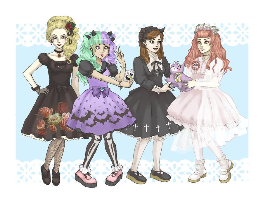 Lolita Fashion by AmaneMiss