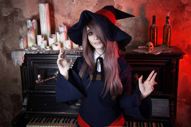 Little Witch Academia: Sucy Manbavaran cosplay