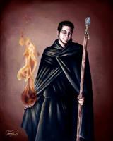 Vampire Masquerade Tremere by Ireness-Art
