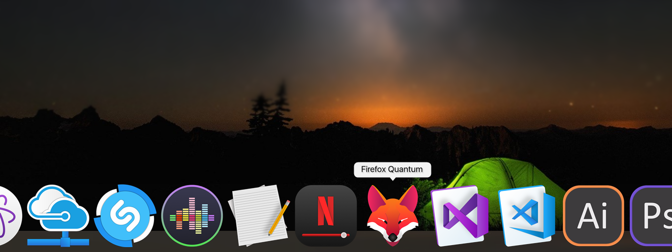 Firefox Quantum icon for Dock by CleytonPr