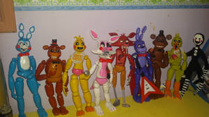 Five nights at freddy's complete collection!