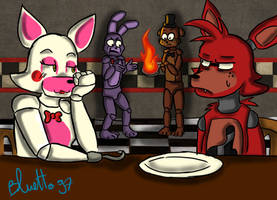 Some problems at freddy's by Bluetta97