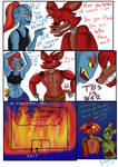 Foxy the Pirate and Undyne Funny crossover comic!