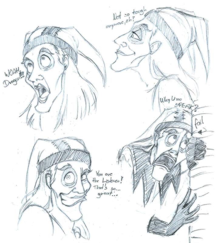 Cicero Sketches by DuskChant
