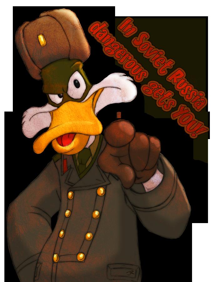 Soviet Russia Duck by DuskChant