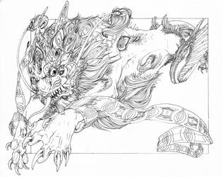 Leap - Coloring Page by Pythosart