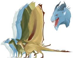 Comm: Dragon Design by Pythosart