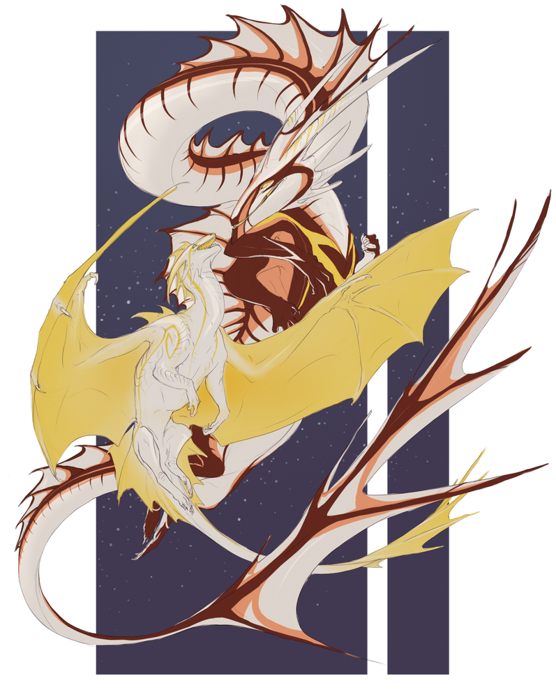 Comm: Asha and Lord Hydra by Pythosblaze