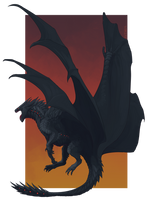 Comm: Blackheart by Pythosart