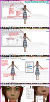 MMD Faical tutorial by MMDKasumi2140