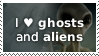 Ghosts and Aliens by Mintaka-TK