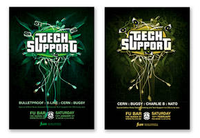 TechSupport variations by Crittz