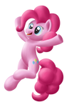 Pinkie Pie celebrating