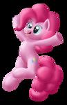 Pinkie Pie celebrating
