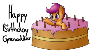 Happy Birthday Grenadder