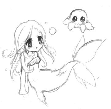 MermaidOctopus By P o c k e t On DeviantArt