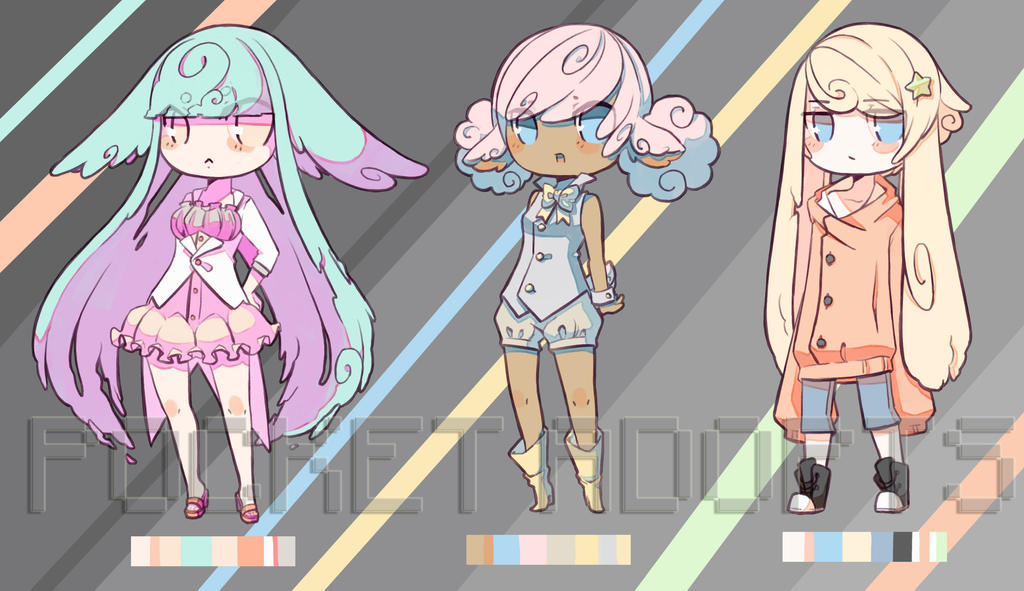 Elles-mini adopts batch1-SOLD OUT by p-o-c-k-e-t