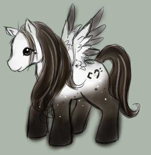 Kohaku's Little Pony by p-o-c-k-e-t