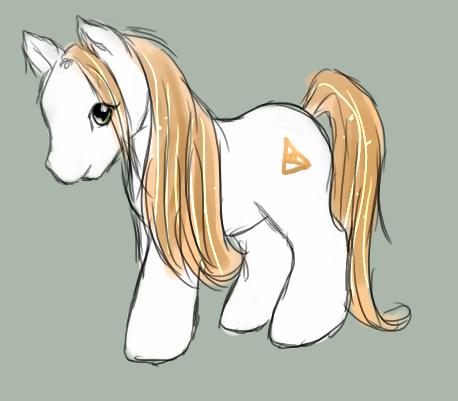 Kyatia's Little Pony by p-o-c-k-e-t