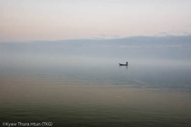 fishing in heaven by ThaKhinGyi