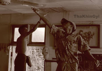 Painters by ThaKhinGyi