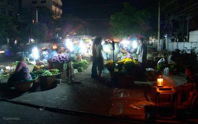 Night Bazzar 1 by ThaKhinGyi