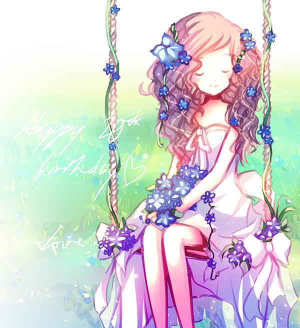 Happy birthday, Sunshine! by Emi-Liu