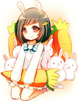 Bunny Charmer by Emi-Liu