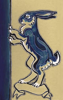 Blue Hare Book Cover
