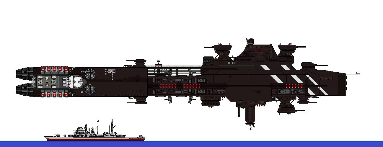 Deleric Warship - Hydrae V by DrakenhothRepublik