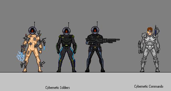 Robot Soldiers by DrakenhothRepublik