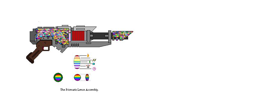 Discord's Rainbow Cannon by DrakenhothRepublik