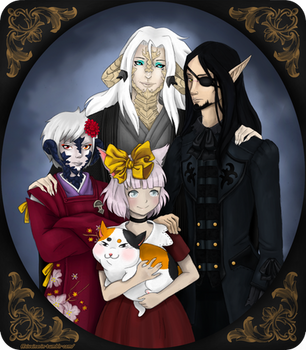 ~Family Portrait~ by Sateisa
