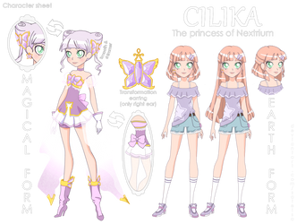 Lolirock OC: Cilika Princess of Nextrium by Sateisa