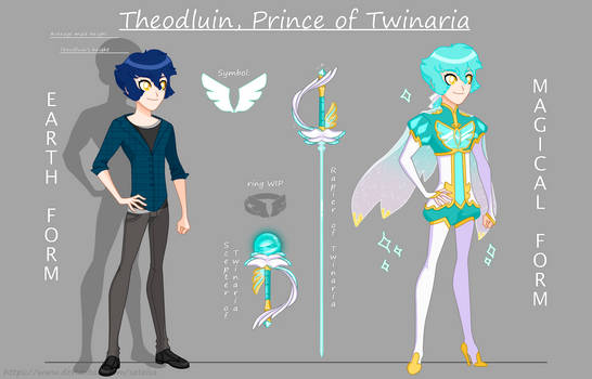 Lolirock OC: Theodluin, prince of Twinaria