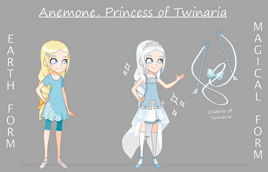 Lolirock OC: Anemone, princess of Twinaria