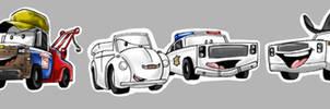 Hazzard cars -color-