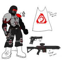 Nod Enforcer cosplay concept