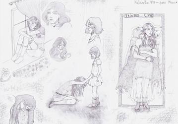 Katsuko doodles