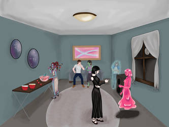 Halloween Party (Contest Entry) by Korah-Zombie