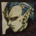 Magus Cross-Stitch by Korah-Zombie