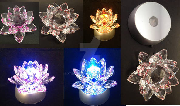 The Silver Crystal Flower Replica from Sailor Moon