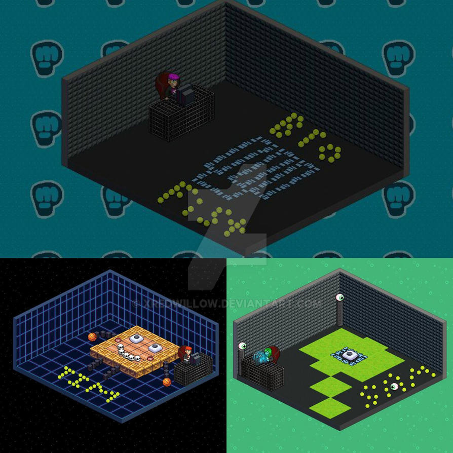 Tuber Simulator Room Ideas My Pewdiepie Tuber Simulator Mascot Rooms! by xRedWillow ...